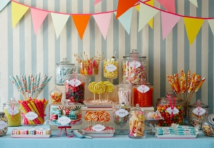Candy Buffet Big Wedding Tiny BudgetBig Budget