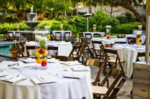 Outdoor Wedding Reception Places