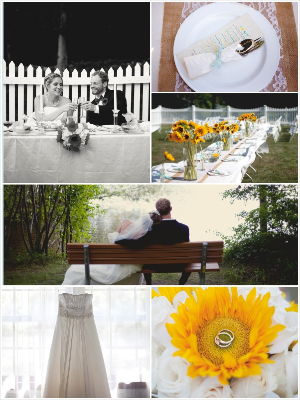 weddings on a budget - backyard Connecticut