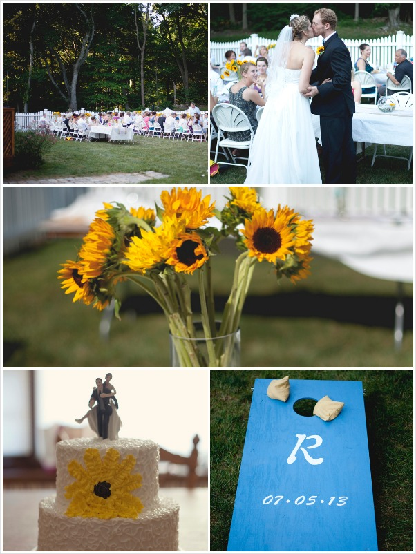 weddings on a budget -backyard Connecticut