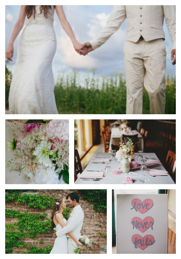 Real Weddings Backyard Illinois