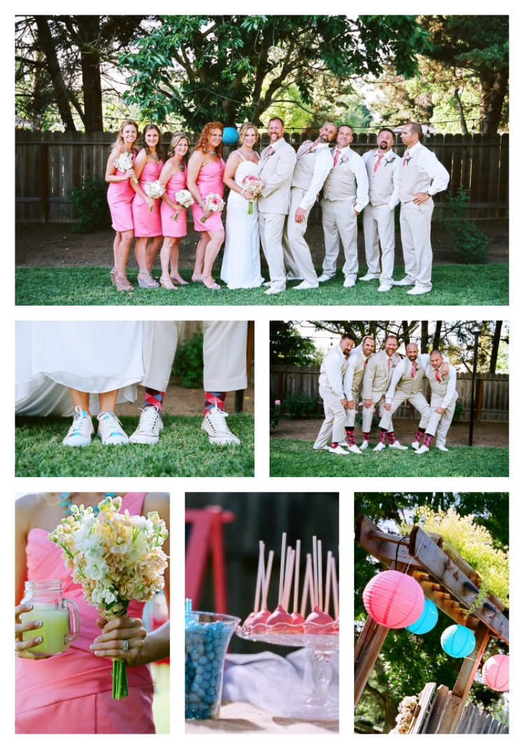 Real Weddings: California Backyard